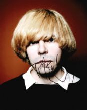 Tim Burgess Autograph Photo Signed - The Charlatans